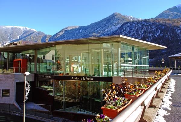centro de congresos de Andorra la Vella