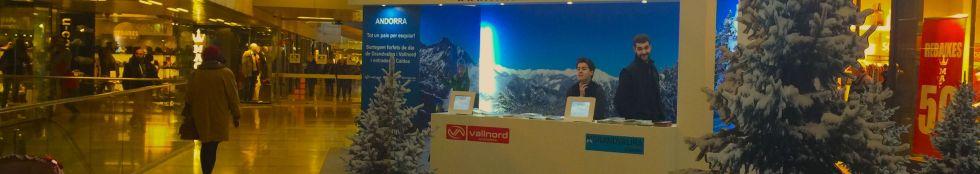 Campaña promoción Ski-Andorra en la Illa