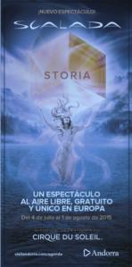Circo del sol con su espectáculo Storia verano 2015