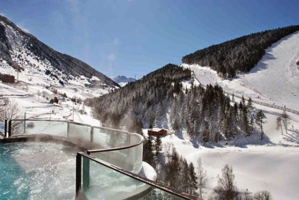 Hotel Hermitage Andorra detalle del  Sport Wellness Mountain Spa