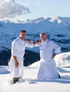 Hotel Hermitage de Andorra , chefs  Nandu Jubany  y Carlos Gaig