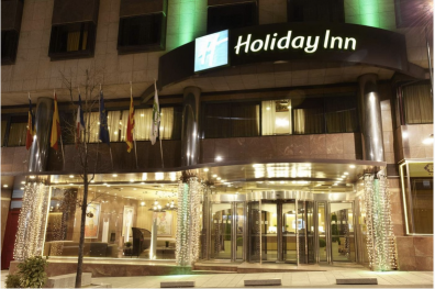 Hotel Holiday Inn Andorra fachada