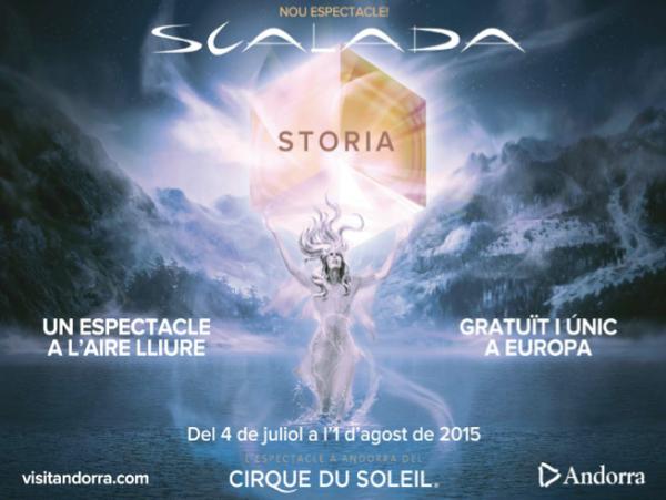 Storia cirque du soleil Andorra