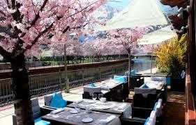 Terraza restaurante Hotel Acta Arthotel Andorra