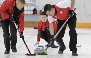 Palau de gel de Andorra curling