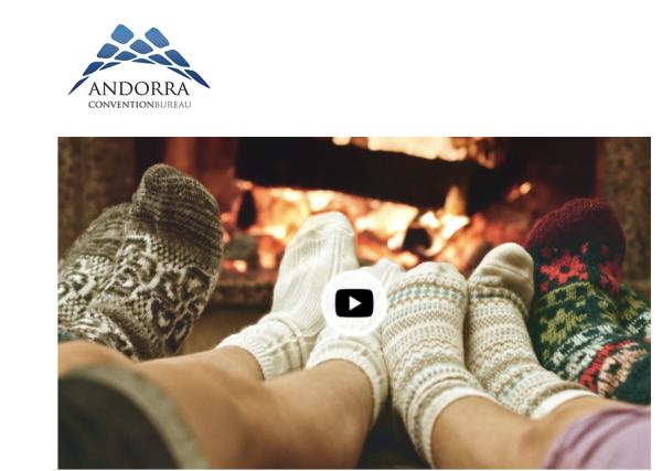 Felicitación de Navidad de Andorra Convention Bureau