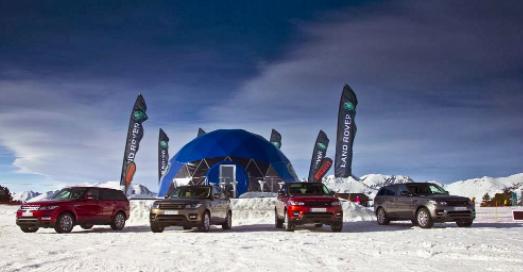 Circuito Snow driving Land Rover Grandvalira