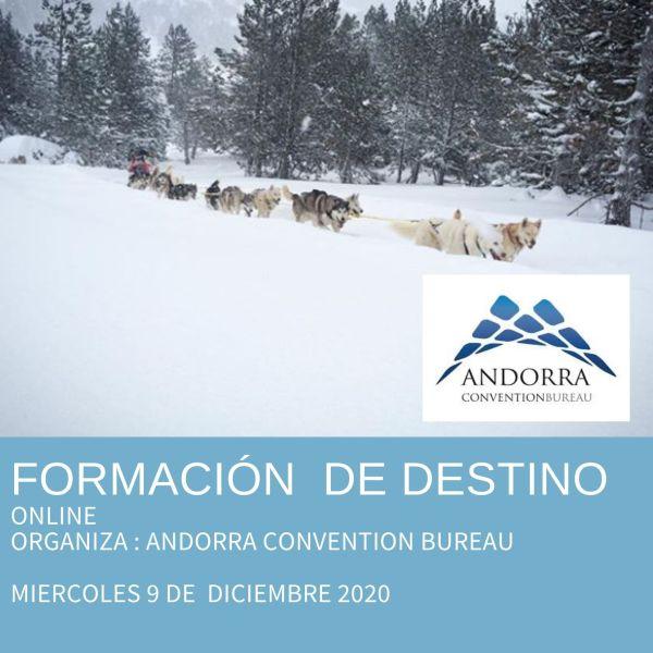ciclo formaciones Andorra Convention Bureau