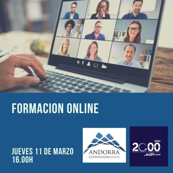 Formación ONLINE Andorra Convention Bureau
